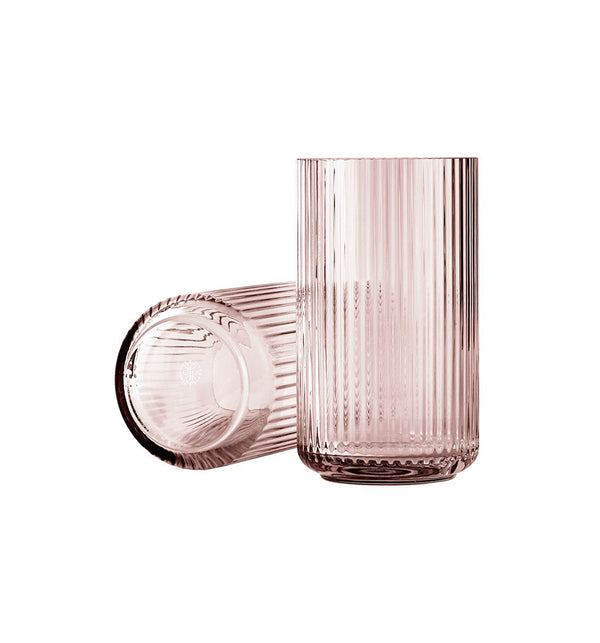 Lyngby Glass Vase: 2 Colours