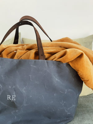 Recycled Waxed Canvas Hold-All Bag