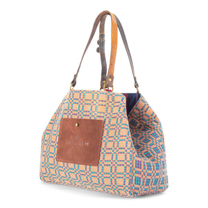 Plaid/Check Orient Tote Bag
