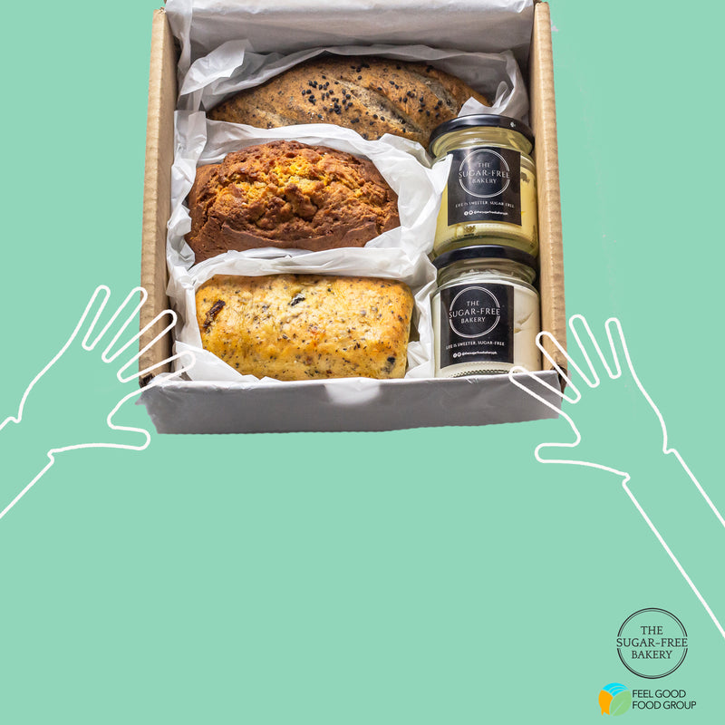 Signature Sugar-Free Bread and Spread Care Box