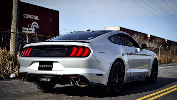Corsa Performance 2018-2019 Ford Mustang GT 3