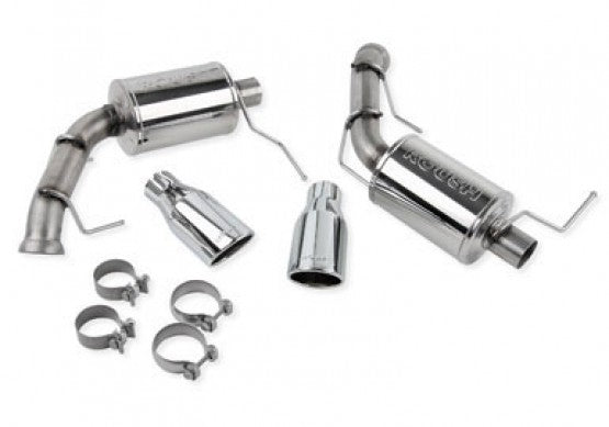 Roush 2011-2014 Ford Mustang GT Axle-Back Exhaust