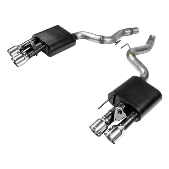 Flowmaster 2018-2019 Ford Mustang GT Outlaw Axle-Back Exhaust (with Active Valve)