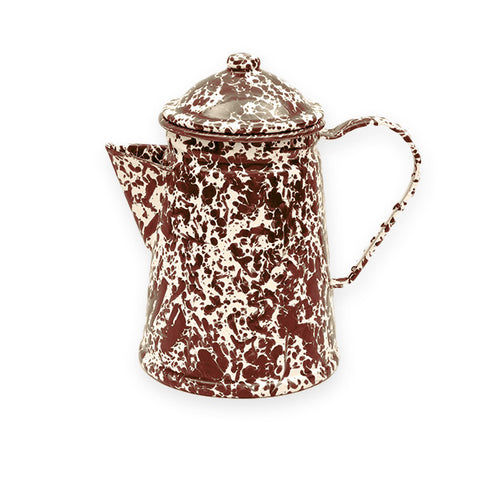 Crow Canyon Home ~ Enamelware ~ Small Coffee Pot