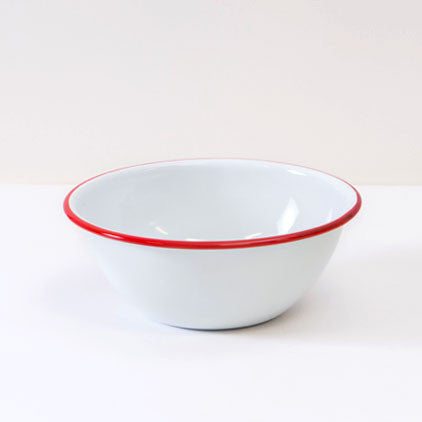 Crow Canyon Home ~ Enamelware ~ Cereal Bowl