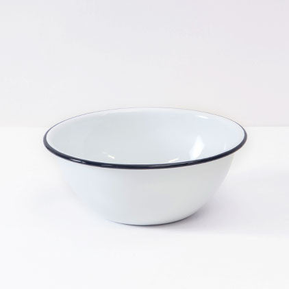 Crow Canyon Home ~ Enamelware ~ Small Serving Bowl