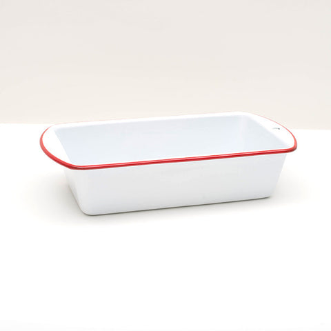 Crow Canyon Home ~ Enamelware ~ Loaf Pan