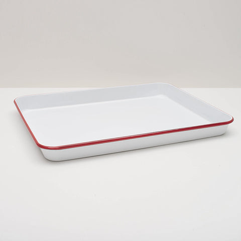 Crow Canyon Home ~ Enamelware ~ Jelly Roll/Rectangle Tray