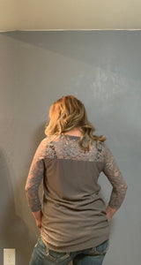 Dottie's Lace Blouse