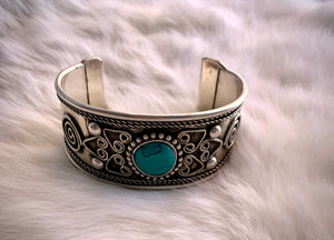 Jentry's Turquoise  Cuff