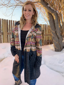 Hanging With My Friends Aztec Cardigan