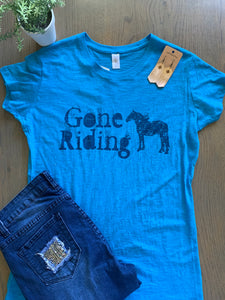 Gone Riding Tee