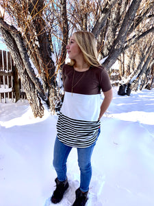Slice of Heaven Striped Top