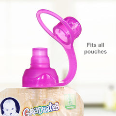 SoftSip Pouch Tops - 2 CT | Red Purple