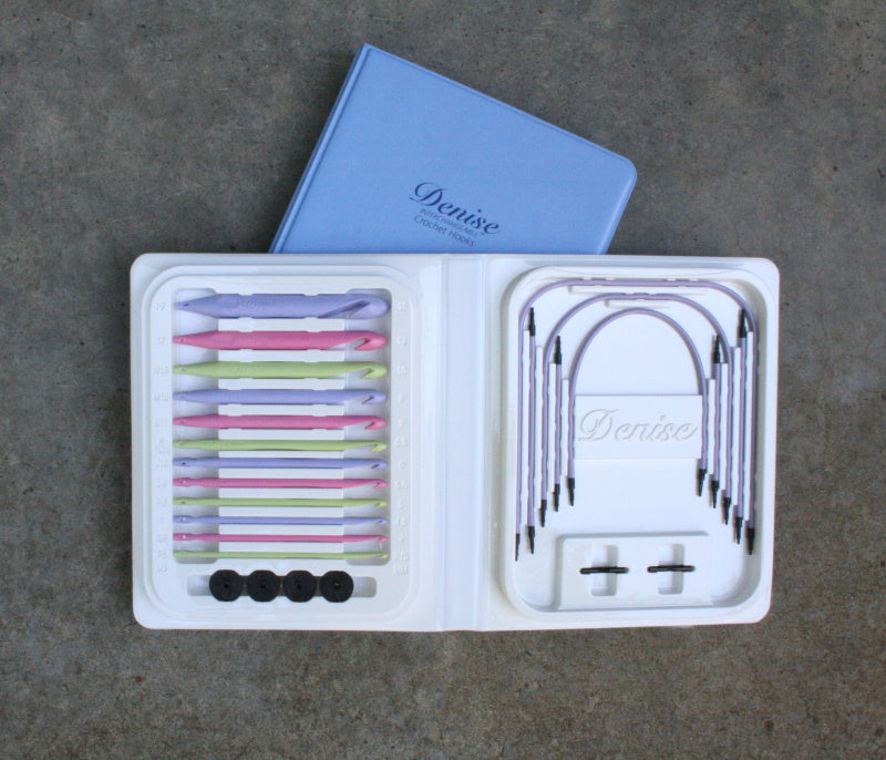 Crochet Hook Kit - Pastel