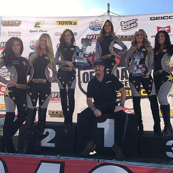 Job Highlight: Rockstar Energy Model Race Suits