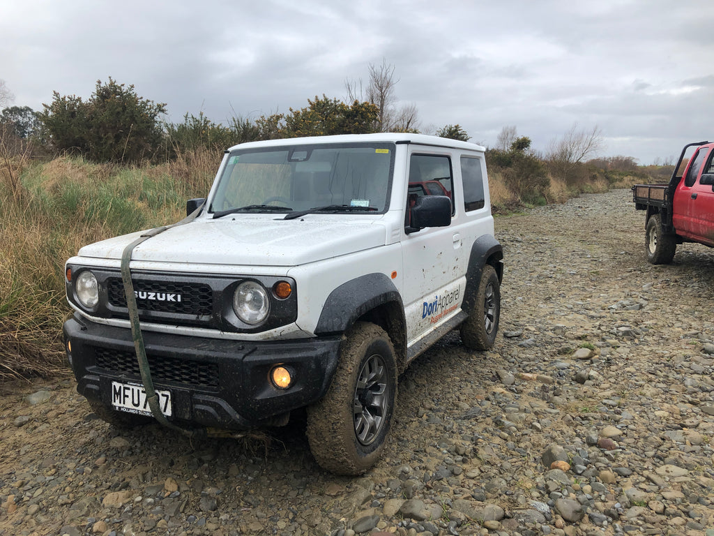 First Day Out with the 4WD Club