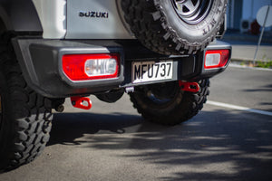 JB74 Rear Tow Bar vs Rear Recovery Points