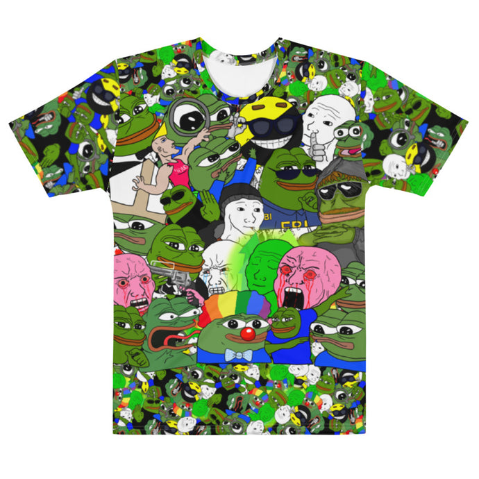 4chan BASED T-Shirt CAMO
