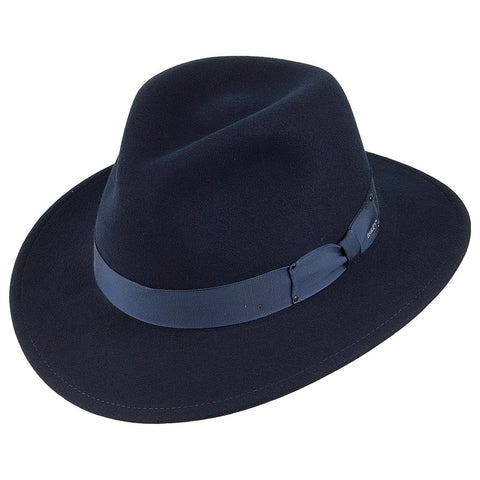 Bailey Curtis Fedora Navy