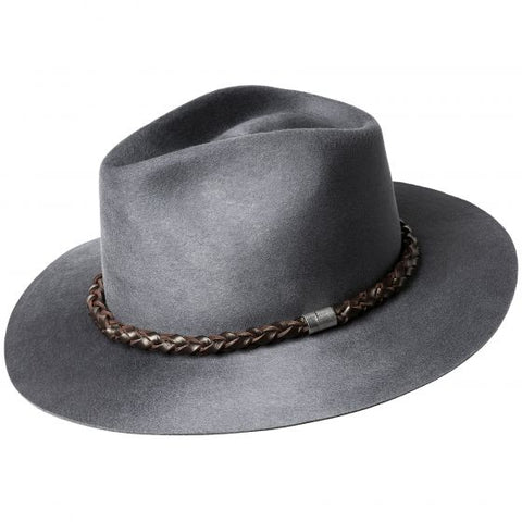 Bailey Marty Fedora Steel Medium