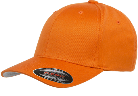 Flexfit Wooly Combed baseball cap Orange