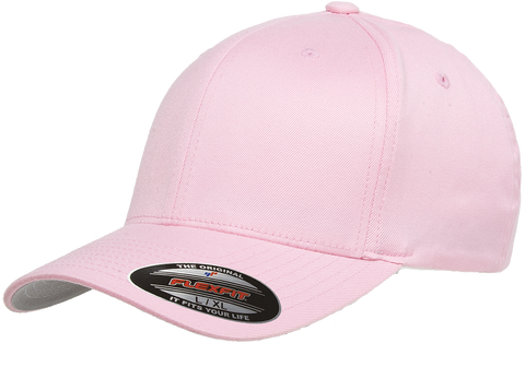 Flexfit Wooly Combed baseball cap Pink