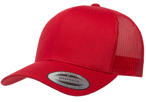 90714629f60 Yupoong Retro Trucker Red – I Love Hats