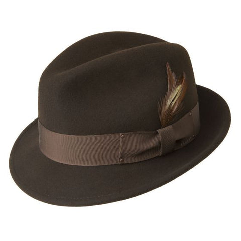 Bailey Tino Fedora Brown