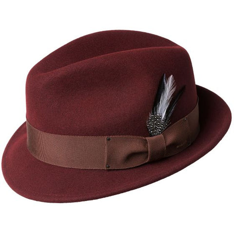 Bailey Tino Fedora Oxblood