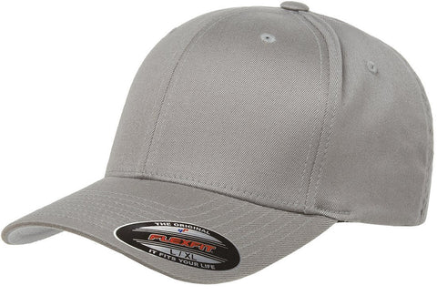 Flexfit Wooly Combed baseball cap Grey
