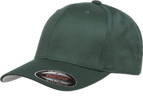 Flexfit Wooly Combed baseball cap Spruce