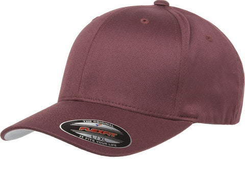 Flexfit Wooly Combed baseball cap Maroon