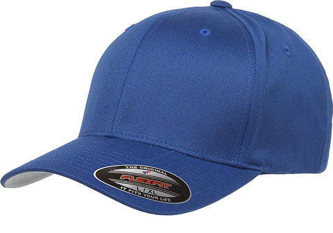 Flexfit Wooly Combed baseball cap Royal