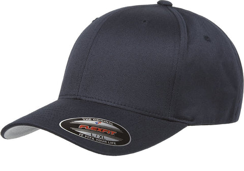 Flexfit Wooly Combed baseball cap Dark Navy