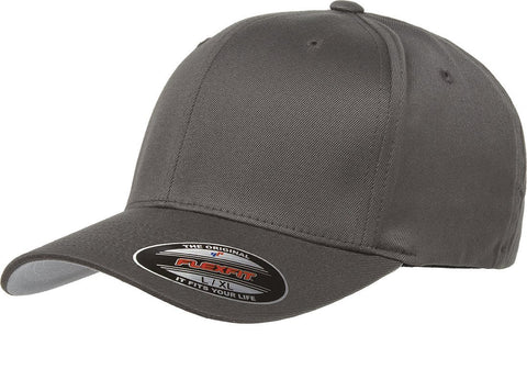 Flexfit Wooly Combed Twill Cap Charcoal