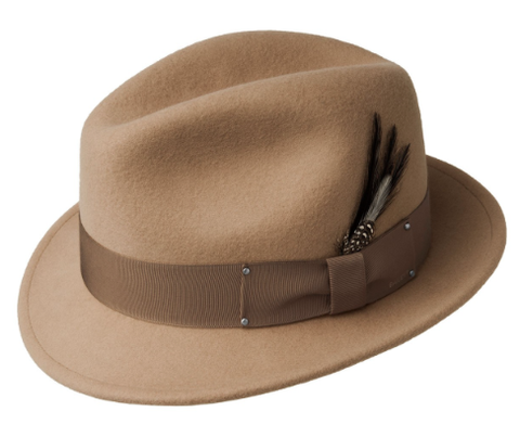 Bailey Tino Fedora Blood Camel
