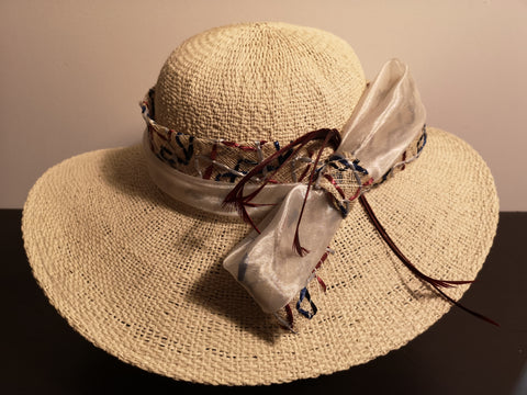 Canadian Hat Dress Trim Sun Hat Beige