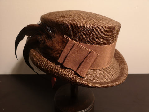 Canadian Hat Baku Rouge Topper Brown