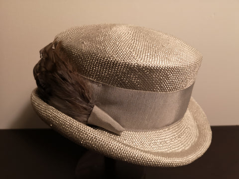Canadian Hat Baku Rouge Topper Silver