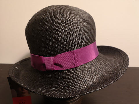 Canadian Hat Baku Roll Up Black/ Purple