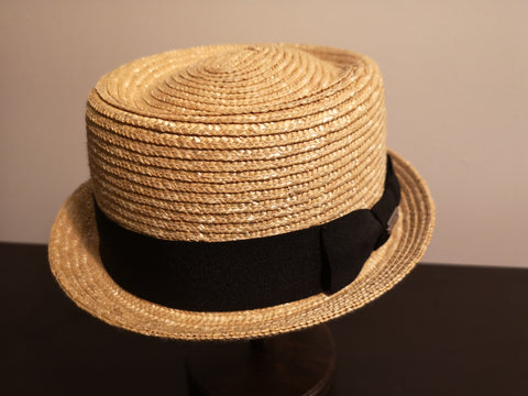 Kangol Wheat Braid Pork Pie Natural