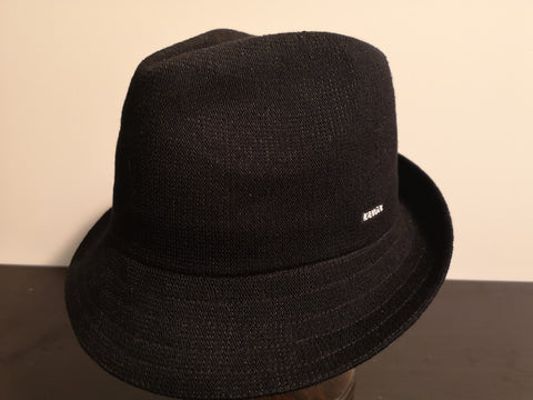 Kangol Bamboo Arnold Trilby Black