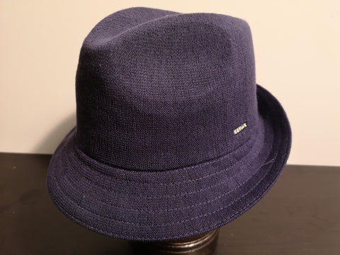 Kangol Bamboo Arnold Trilby Navy