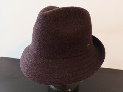 Kangol Wool Arnold Trilby Brown