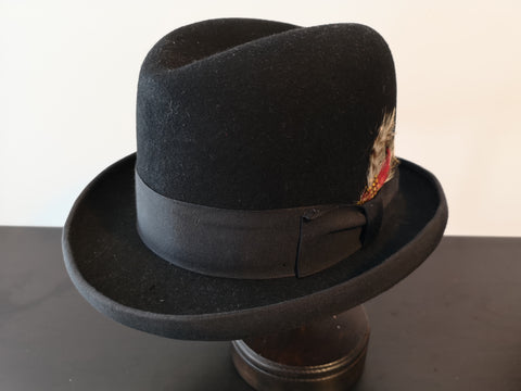 Biltmore Wool Homburg Black