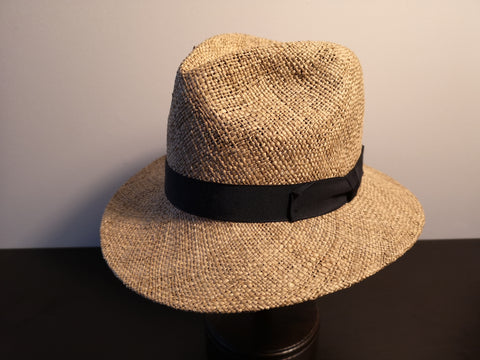 Magill Seagrass Fedora Natural