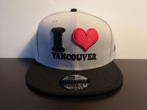 L&I I Love Vancouver New Era Snap Grey/Black