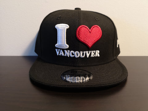 L&I I Love Vancouver New Era Snap Black