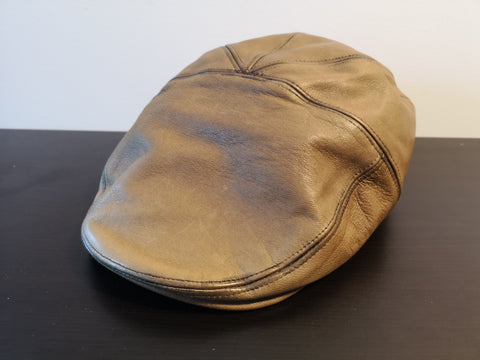 Bailey Glasby Leather Ivy Cap Scotch